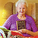 Crocheting Blankets Earn Honors